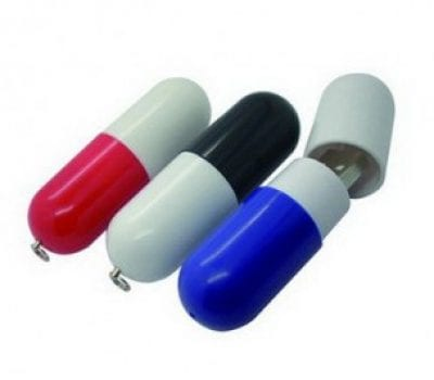 Coloured Bullet style small USB