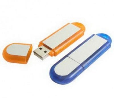 Rounded Transparent USB