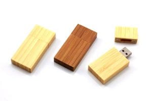 eco friendly wooden usb