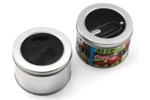 spherical tin usb holder