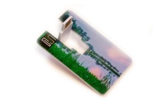 credit card photo print usb