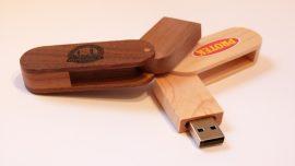 wooden twister cap usb