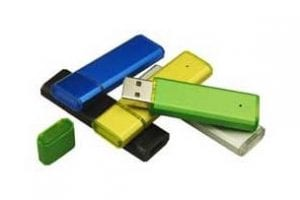 Neon Coloured Metal USB