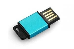Mini Blue USB