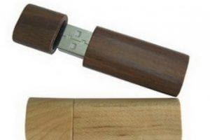 Small and Light wooden USB