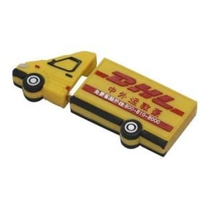 dhl lorry customised usb