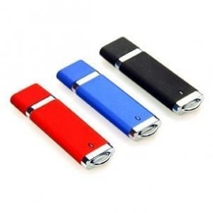 coloured flash drives