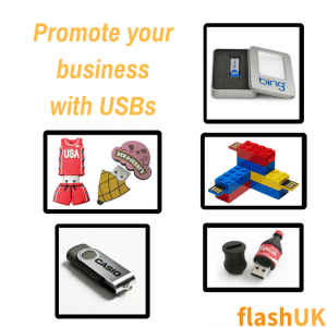 custom USBs to promote your business