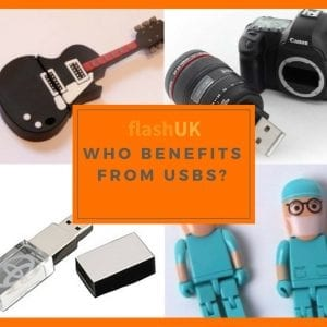 who benefits from USB flash drives