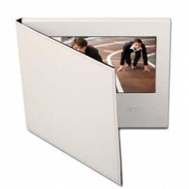 Leather Covered Video Brochure
