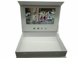 5-Inch White Video Brochure