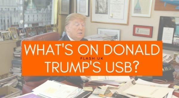 What's on Donald Trump's USB