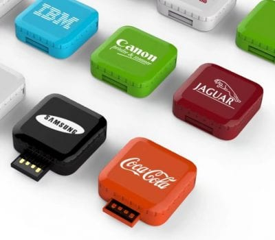 Coloured Cube USB