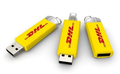 Twist and Release USB DHL